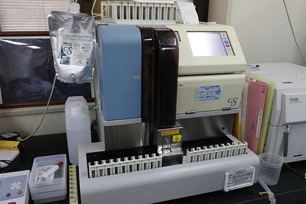 グリコヘモグロビン分析計 HLC-723G8(東ソー)
